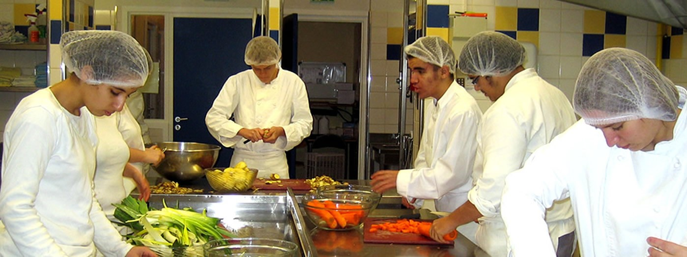 Cap apr for Formation restauration scolaire